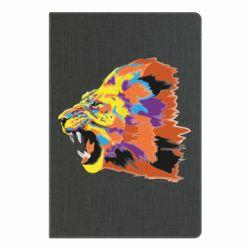 Блокнот А5 Lion multicolor