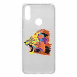 Чехол для Xiaomi Redmi 7 Lion multicolor