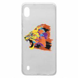 Чехол для Samsung A10 Lion multicolor