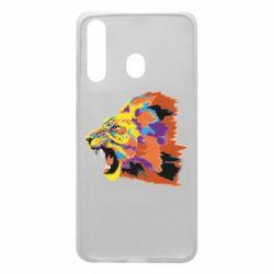 Чехол для Samsung A60 Lion multicolor