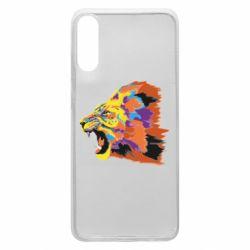 Чехол для Samsung A70 Lion multicolor