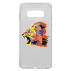 Чехол для Samsung S10e Lion multicolor