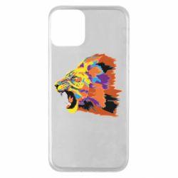 Чехол для iPhone 11 Lion multicolor