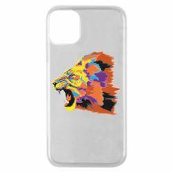 Чехол для iPhone 11 Pro Lion multicolor
