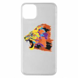 Чехол для iPhone 11 Pro Max Lion multicolor