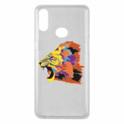 Чехол для Samsung A10s Lion multicolor