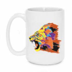 Кружка 420ml Lion multicolor