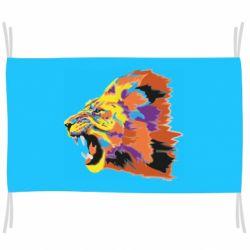 Флаг Lion multicolor