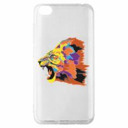 Чехол для Xiaomi Redmi Go Lion multicolor