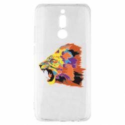 Чехол для Xiaomi Redmi 8 Lion multicolor