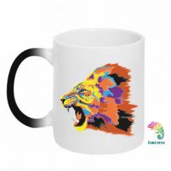 Кружка-хамелеон Lion multicolor