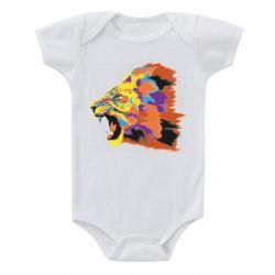 Детский бодик Lion multicolor