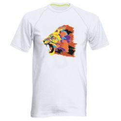 Мужская спортивная футболка Lion multicolor
