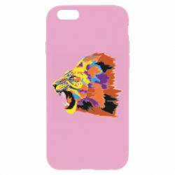 Чехол для iPhone 6 Plus/6S Plus Lion multicolor