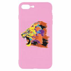 Чехол для iPhone 7 Plus Lion multicolor