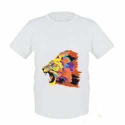 Детская футболка Lion multicolor