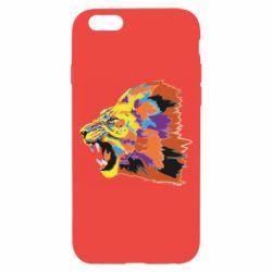Чехол для iPhone 6/6S Lion multicolor
