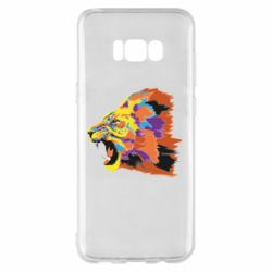 Чехол для Samsung S8+ Lion multicolor