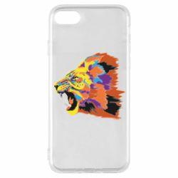 Чехол для iPhone 8 Lion multicolor
