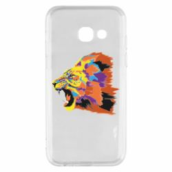 Чехол для Samsung A3 2017 Lion multicolor
