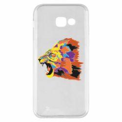 Чехол для Samsung A5 2017 Lion multicolor