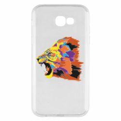 Чехол для Samsung A7 2017 Lion multicolor