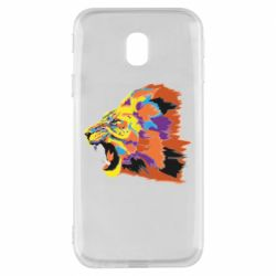 Чехол для Samsung J3 2017 Lion multicolor