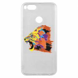 Чехол для Xiaomi Mi A1 Lion multicolor
