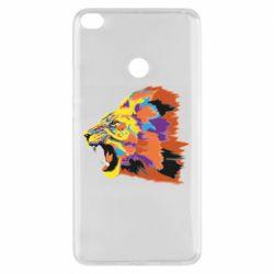 Чехол для Xiaomi Mi Max 2 Lion multicolor