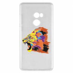 Чехол для Xiaomi Mi Mix 2 Lion multicolor