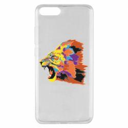 Чехол для Xiaomi Mi Note 3 Lion multicolor