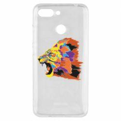 Чехол для Xiaomi Redmi 6 Lion multicolor