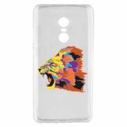 Чехол для Xiaomi Redmi Note 4 Lion multicolor