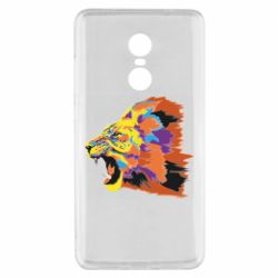 Чехол для Xiaomi Redmi Note 4x Lion multicolor