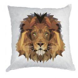 Подушка Lion Poly Art
