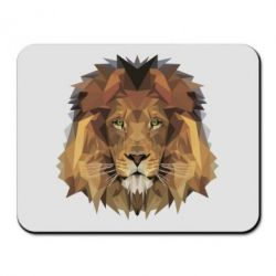 Коврик для мыши Lion Poly Art