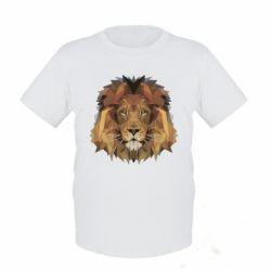 Детская футболка Lion Poly Art