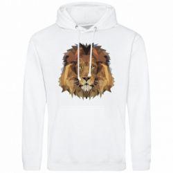 Чоловіча толстовка Lion Poly Art