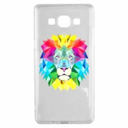 Чохол для Samsung A5 2015 Lion vector
