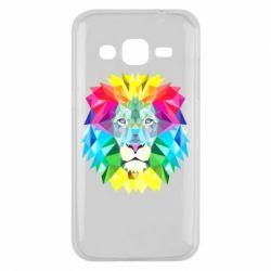 Чехол для Samsung J2 2015 Lion vector