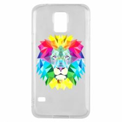 Чохол для Samsung S5 Lion vector