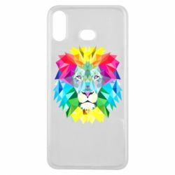 Чехол для Samsung A6s Lion vector