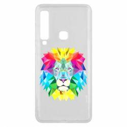 Чехол для Samsung A9 2018 Lion vector