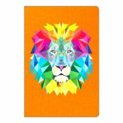Блокнот А5 Lion vector