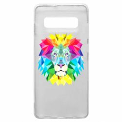 Чохол для Samsung S10+ Lion vector