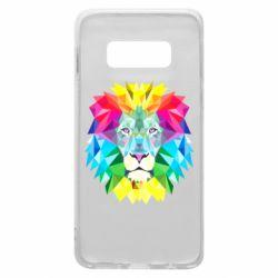 Чехол для Samsung S10e Lion vector