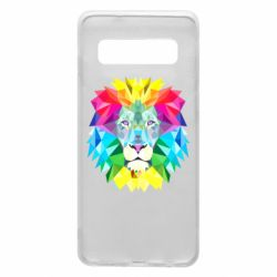 Чохол для Samsung S10 Lion vector