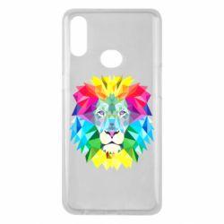 Чехол для Samsung A10s Lion vector