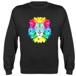 Реглан (свитшот) Lion vector