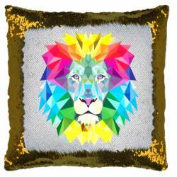 Подушка-хамелеон Lion vector